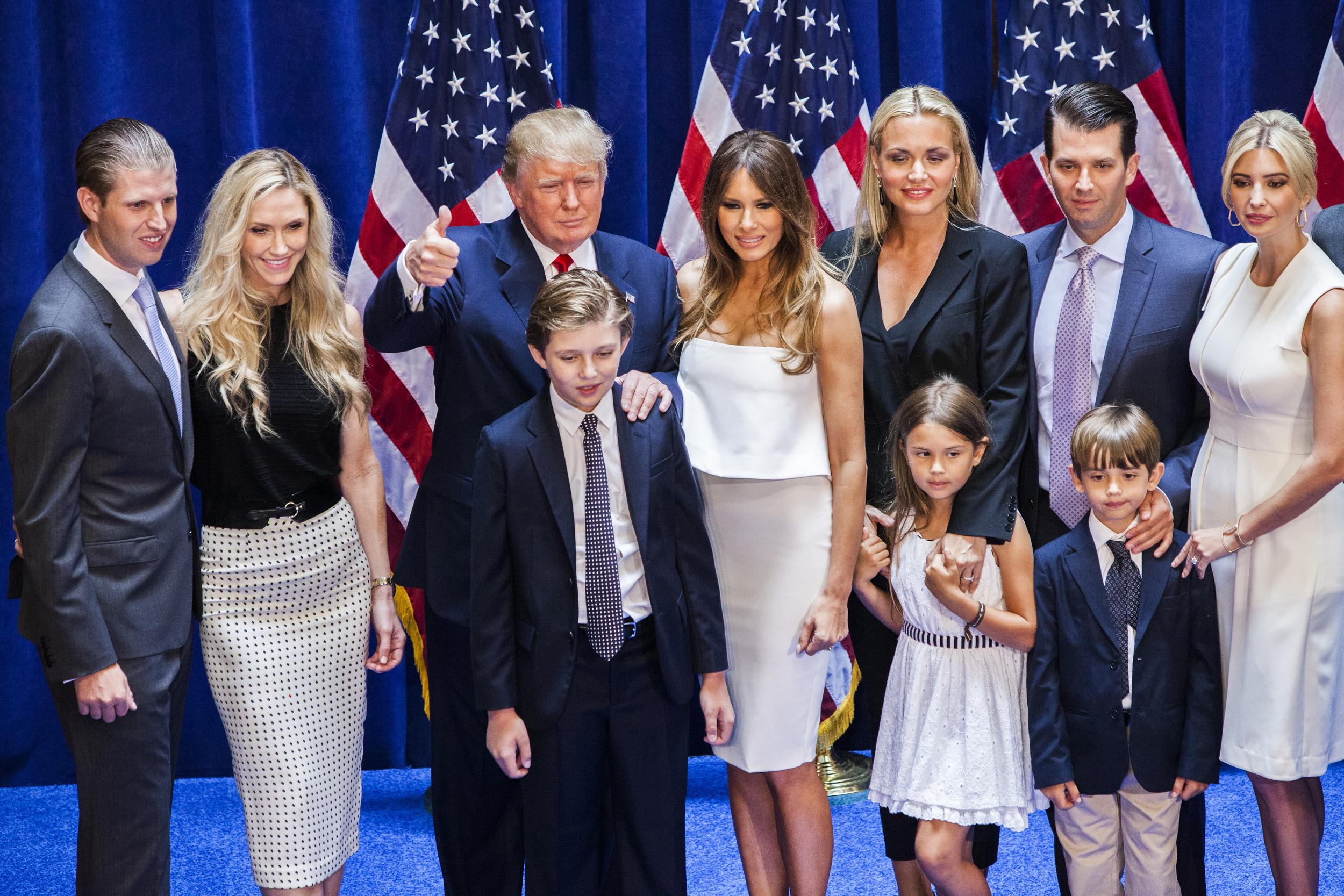 Трамп удивился, что журналисты смогли воспитать детей - Газета. ру