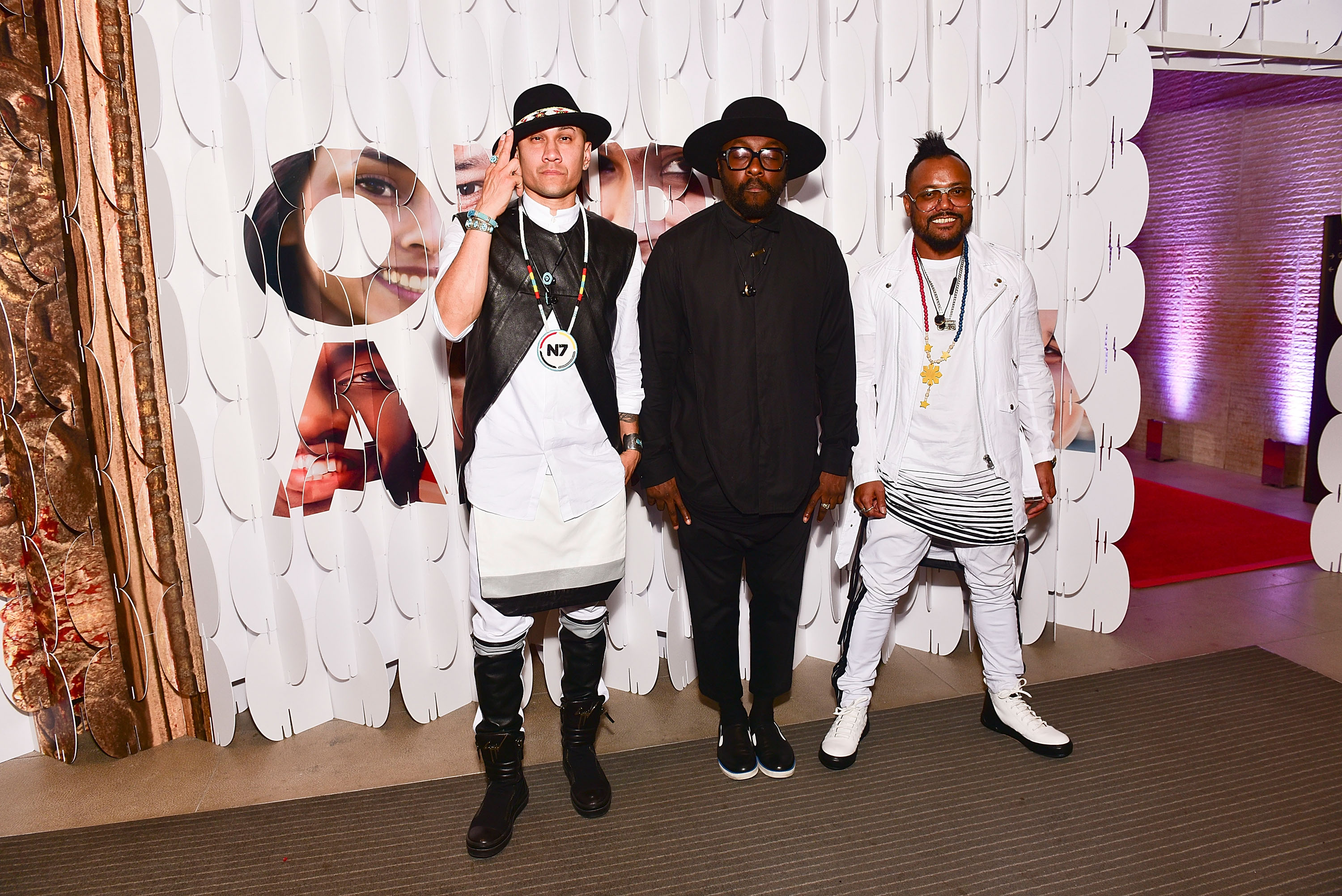 Who are the band Black eyed peas members names and pictures