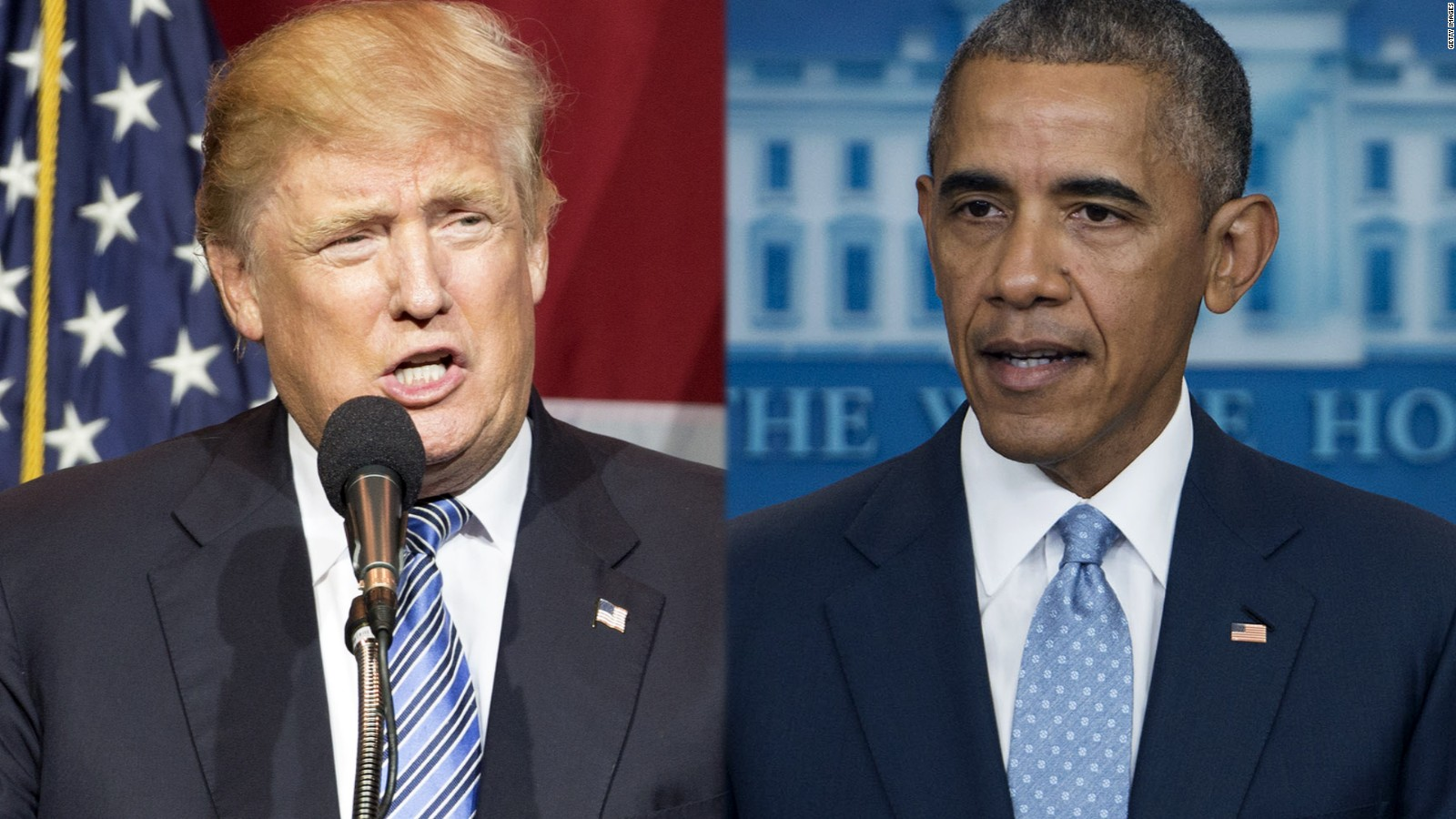 an analysis of the good and bad speeches of barack obama and donald trump President donald trump may have dismissed his predecessor's return to the former president barack obama  bad obama said, referencing one of trump's.