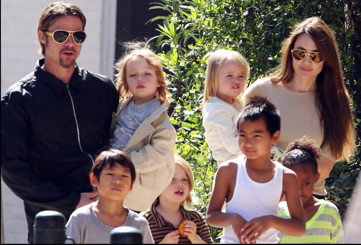 Как сейчас выглядят дети Анджелины Джоли и Брэда Питта? анджелина джоли и брэд питт