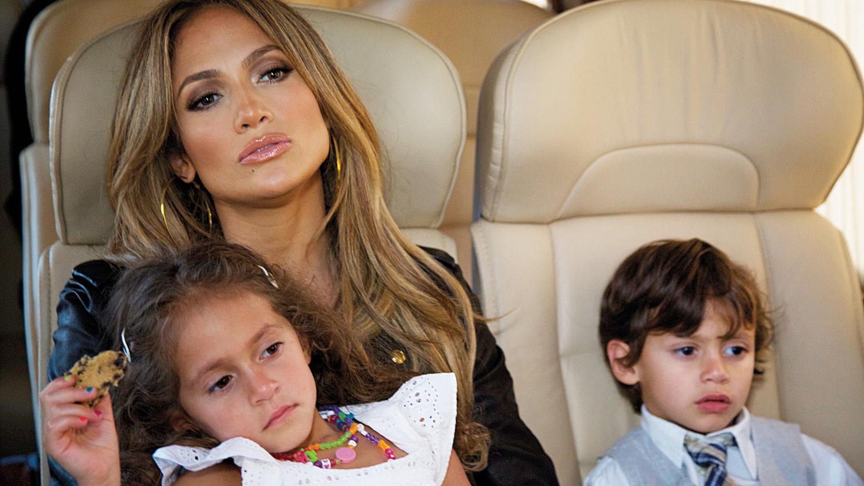 Дженифер лопес с детьми последние фото 2018