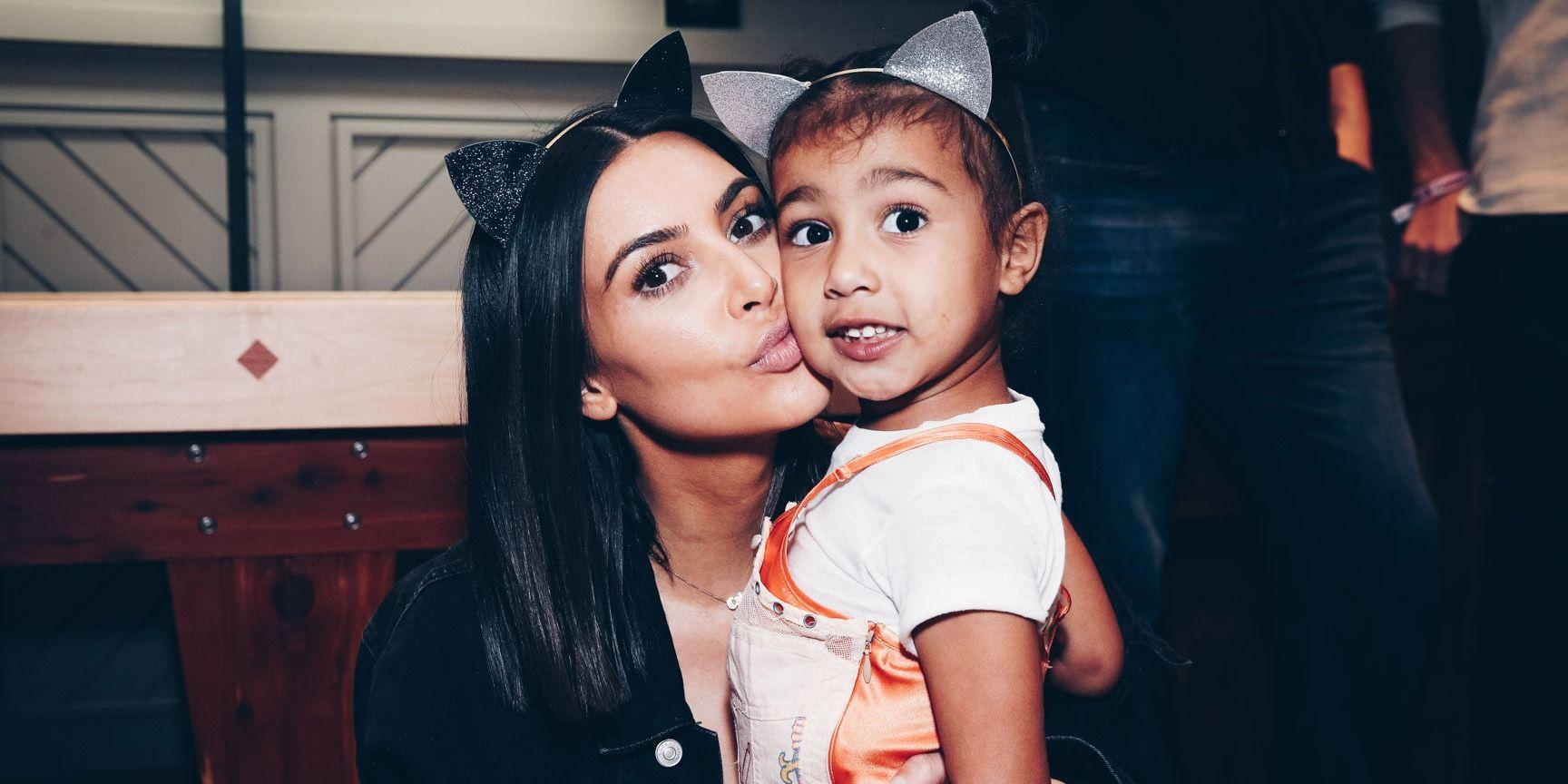 Вся в маму: дочка Ким Кардашьян показала самый модный макияж этого сезона