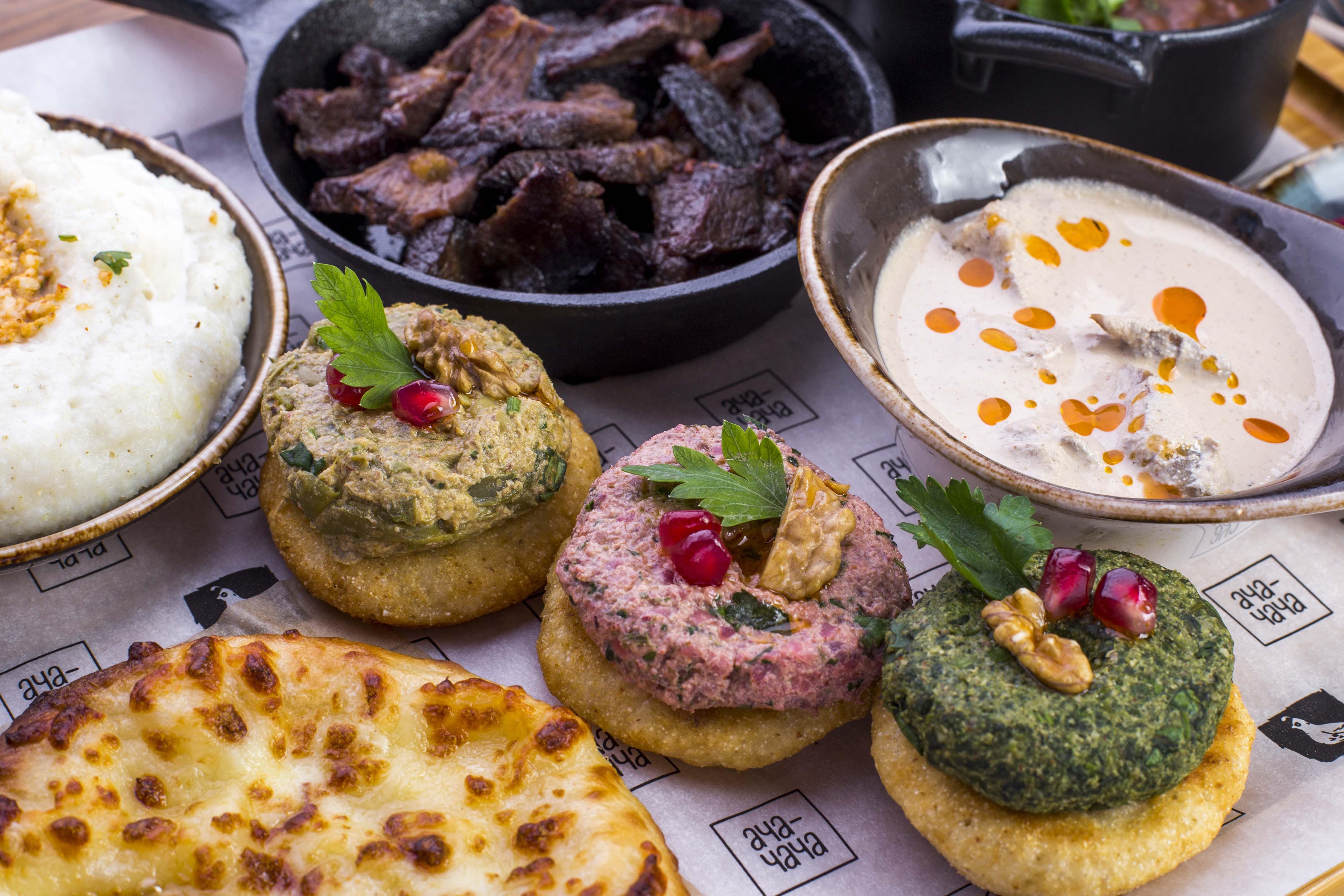 с кухней знакомство грузинской
