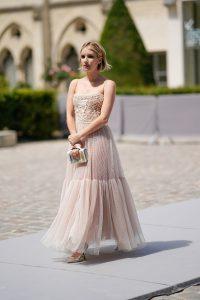 Наталья Водянова, Эмма Роберт и Зои Дойч на показе кутюрной коллекции Dior