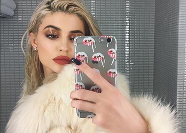 Кайли Дженнер протестировала свой фильтр Instagram
