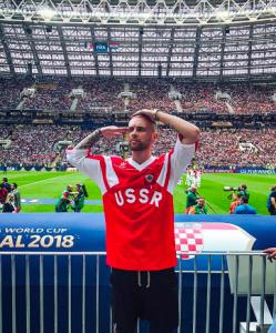 На финале FIFA в «Лужниках» были все: Крид, Киркоров, Собчак, Билан, Водянова, Рудковская и Овечкин на матче