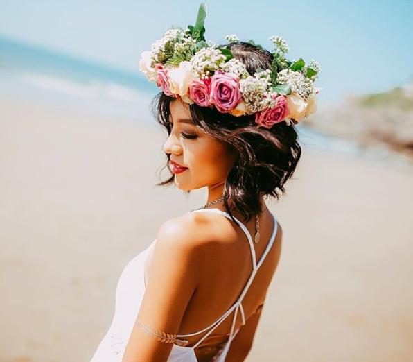 Свадебные прически для очень коротких волос
