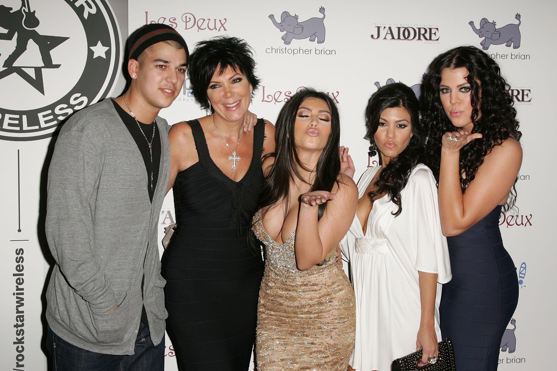 Семья Кардашьян до и после популярности. Выбираем самого красивого! PEOPLETALK