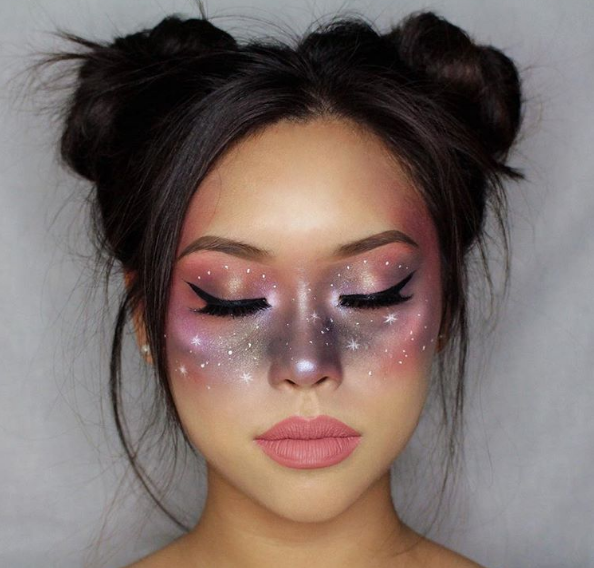 Самый популярный макияж на Хэллоуин
