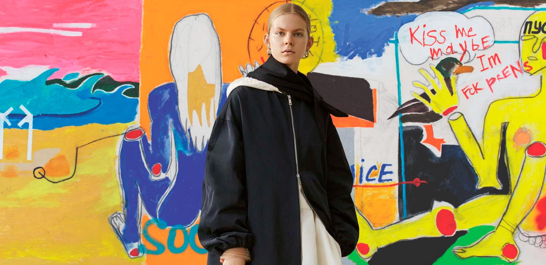 jolie - Новое поколение: русская модель и художница Жоли Элиен о первой выставке и работе с Jil Sander