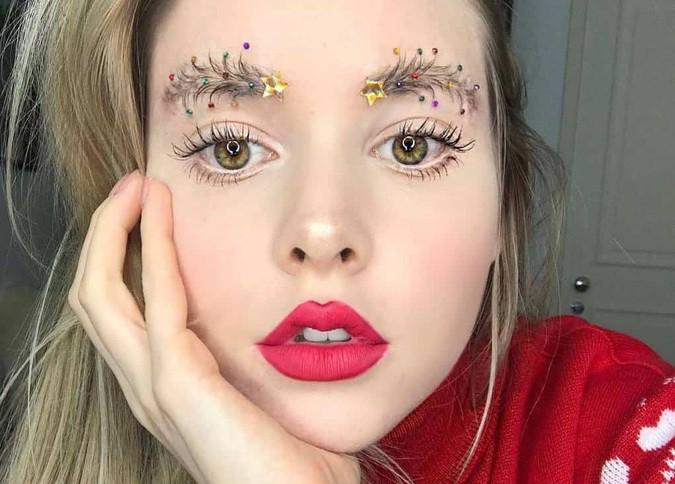 Ужасный макияж на Новый год: фото самых нелепых идей