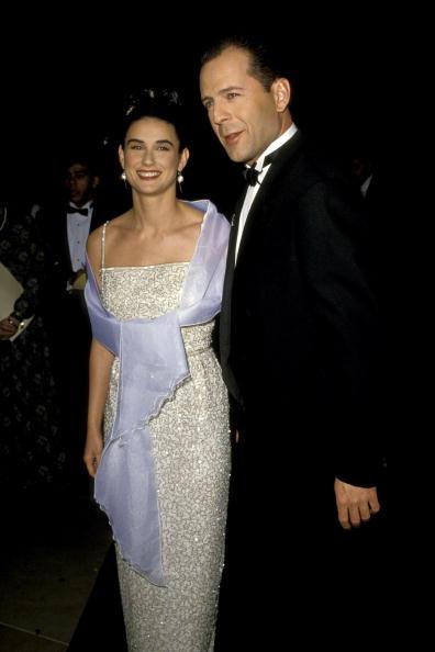 ბრიუს უილისი და დემი მური 1990