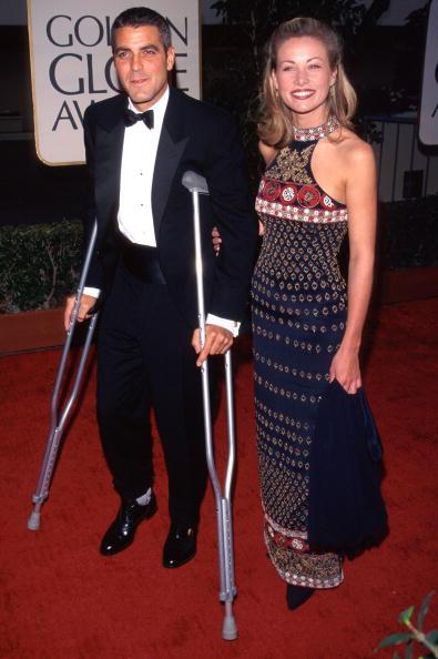 ჯორჯ კლუნი და სელინ ბალიტრანი 1997