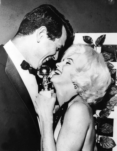 როკ ჰადსონი და მერლინ მონრო 1962